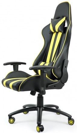 Офисное кресло Calviano RACE WRC yellow/black SA-R-12