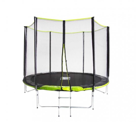 Батут Fitness Trampoline GREEN 8 FT Extreme