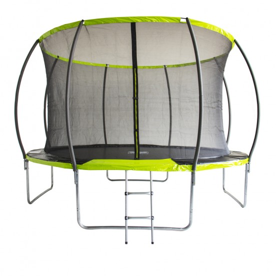 Батут Fitness Trampoline GREEN 12 FT Extreme Inside